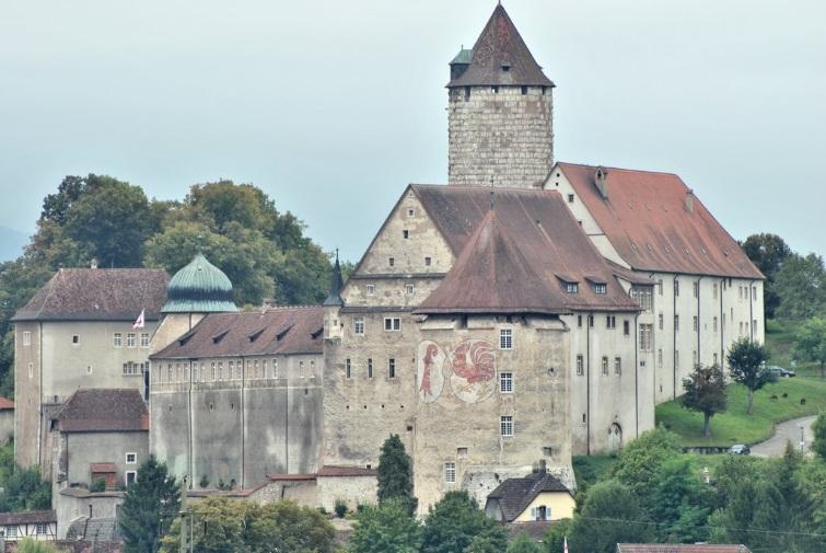 Le château de Porrentruy