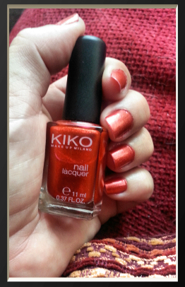 kiko n°492 Pearly Red
