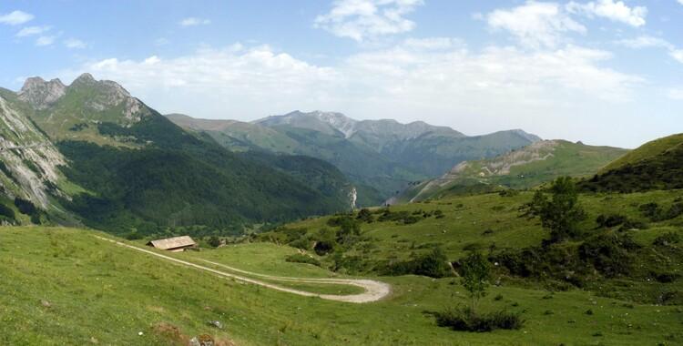 Panorama (gorges de l'Ouzoum)