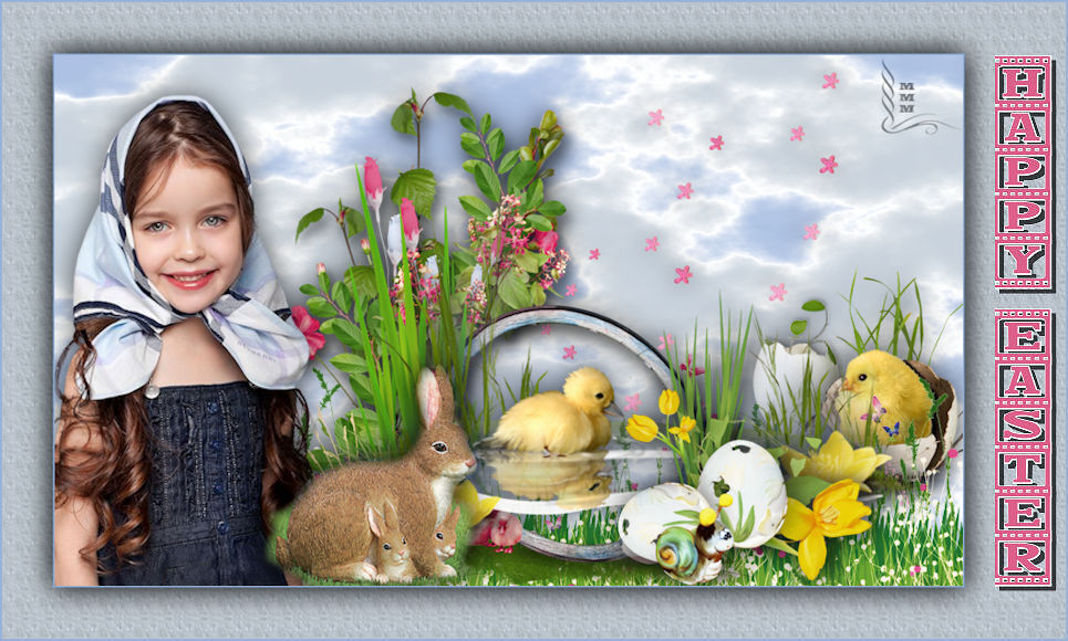 TUTORIAL HAPPY EASTER ANGLAIS