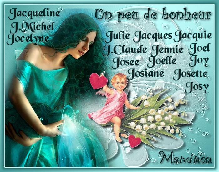 PORTE  BONHEUR  (J)