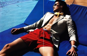 philip huang & jerry fu - numero homme china #1, spring summer 2011 - 2