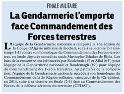 Finale Militaire G.N-CDFT 2-1