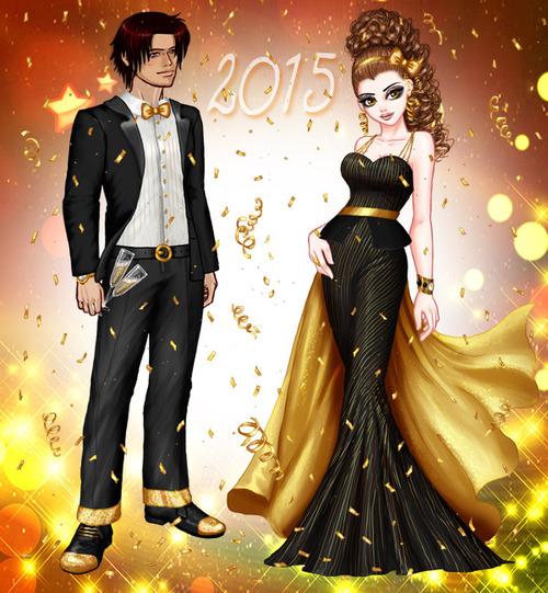 2 nouvelles tenues pour le Nouvel An 2015 !