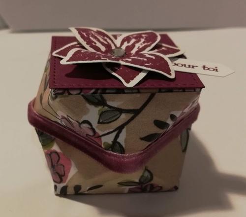 atelier chez Brigitte : les cadeaux....