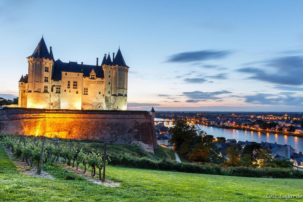Chateau de la loire 8 Saumur