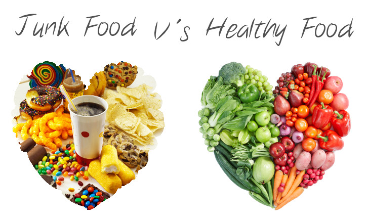 healthy food vs junk food essay Junk food essay for the last thirty years, junk food has been part of our daily life whenever we are hungry, we want to celebrate junk food vs healthy food.