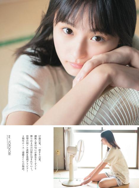 Magazine : ( [Monthly Entame] - 2019.09 - 2019/07/30 / No.219 - Sakura Endo, Ayane Tsutsui, Haruka Kaki & Nogizaka46 )
