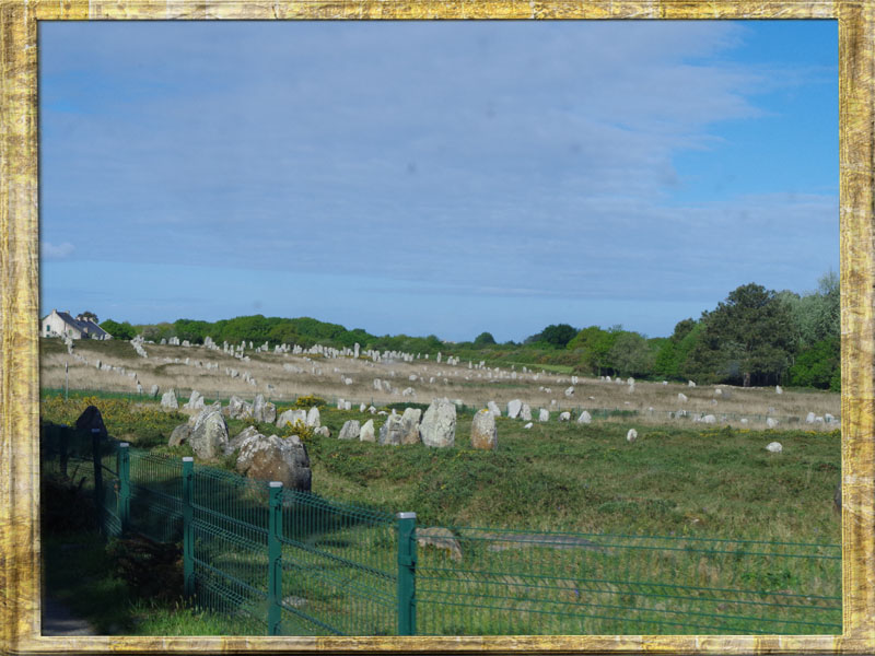 56340 Carnac Allignement de Menhirs