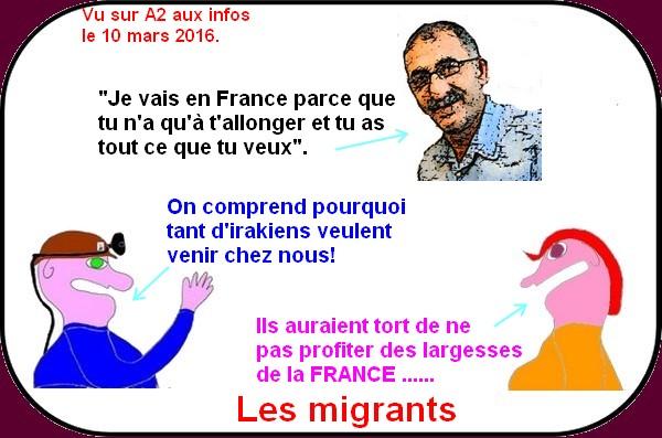 La France pays des libertés mais surtout du social pour les migrants!
