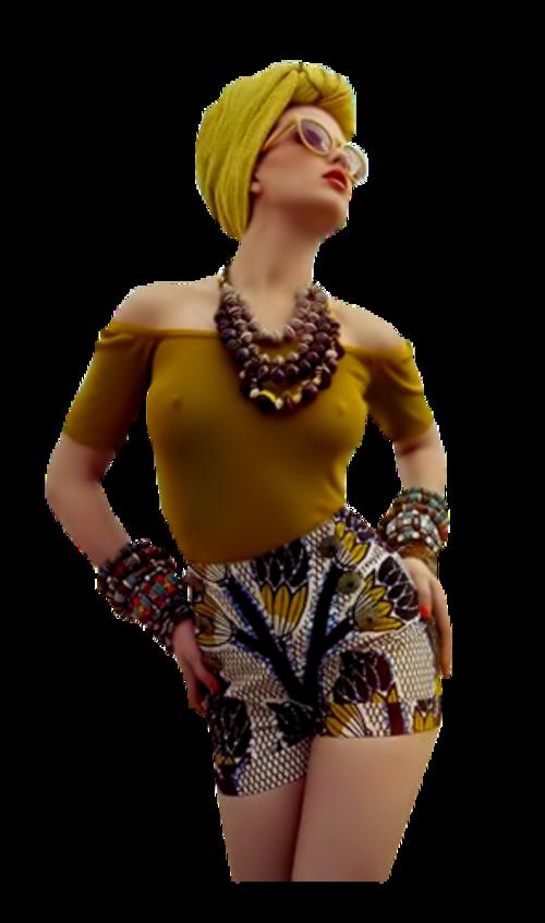 Femme buste / 58