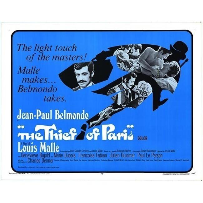 LE VOLEUR de Louis MALLE avec Jean Paul BELMONDO  BOX OFFICE USA 1967