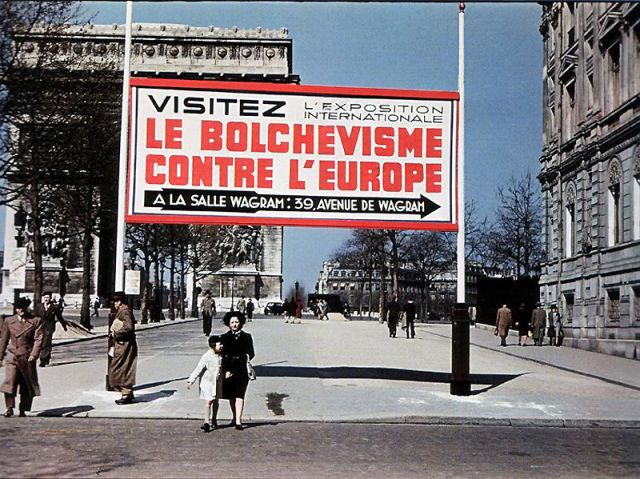 Andre Zucca: Nazi Propaganda Photos - Paris during WW215