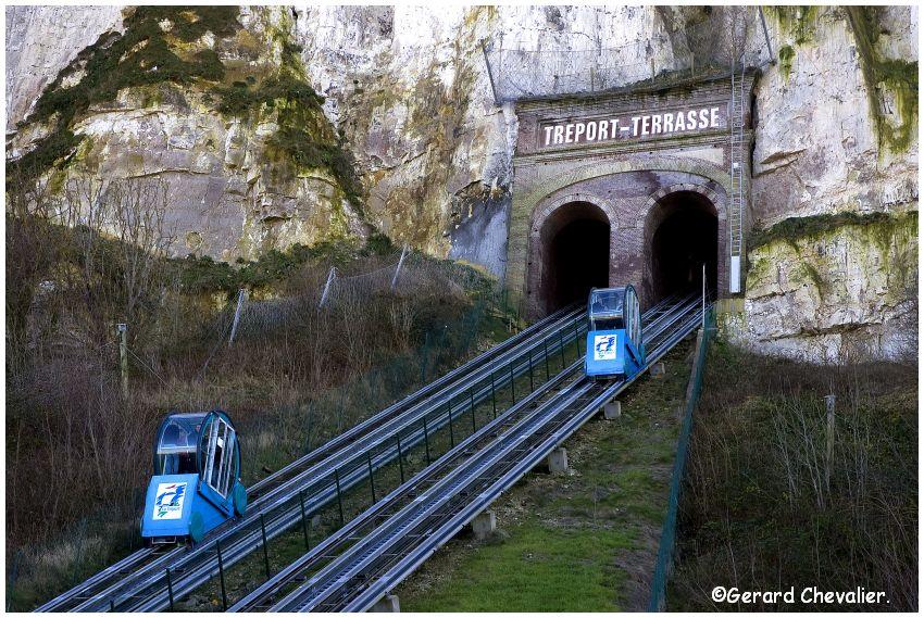 Le Tréport 2 - Le funiculaire.