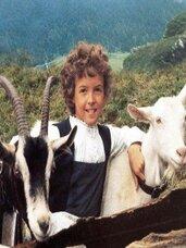 La gardienne de chèvres.
