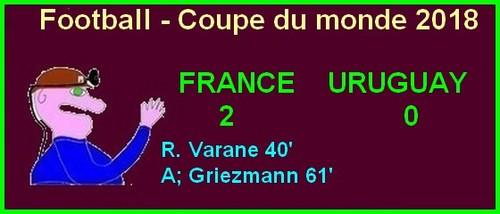 France - Belgique en 1/2 finale c'est de l'humour non ?