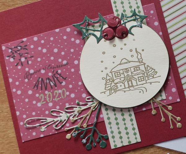 Ronde de cartes de Noël -9