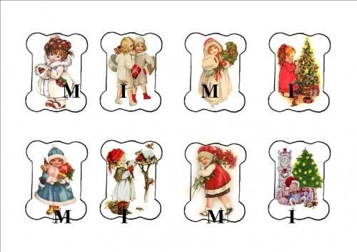 Cartonnettes pour Noël