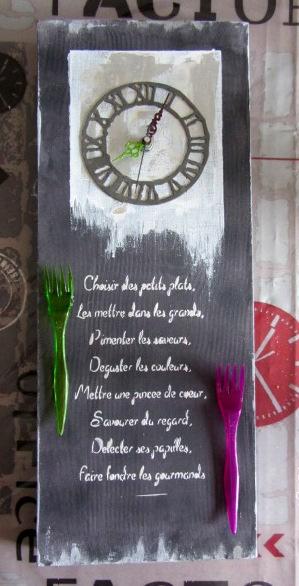 Tableau horloge