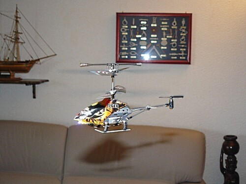 Supermicro Heli Tiger - Revell