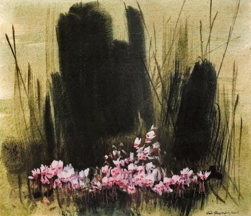 Yannis Ritsos : Bavardage avec une fleur *