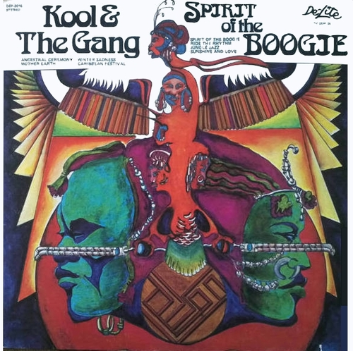 "Kool & The Gang : Album "" Spirit Of The Boogie "" De-Lite Records DEP 2016 [ US ]"