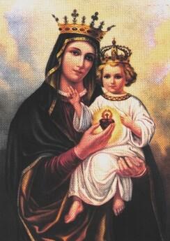 Prière : Litanie de Notre-Dame du Sacré Cœur