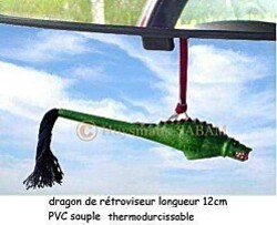 Mons dragon-retroviseur - Arts et Sculpture