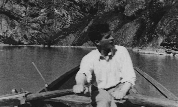 LUDWIG WITTGENSTEIN PARCOURS IMAGES rame sur le lac Eidsvatn à Skjolden