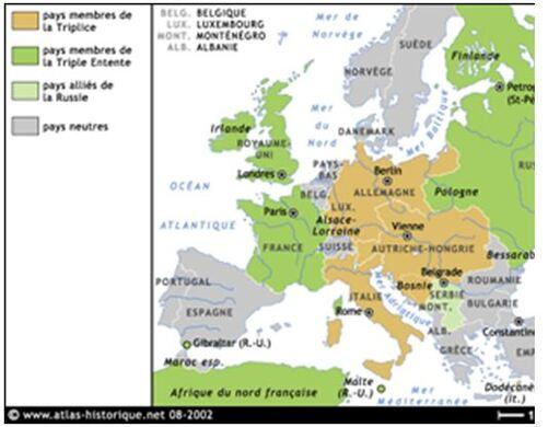 Cours d'histoire des relations internationales (de l'antiquité à la décolonisation 1950)