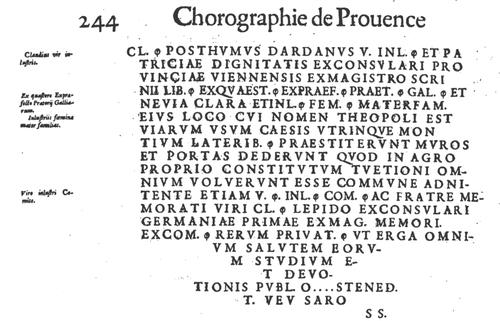 La Pierre Écrite de Chardavon
