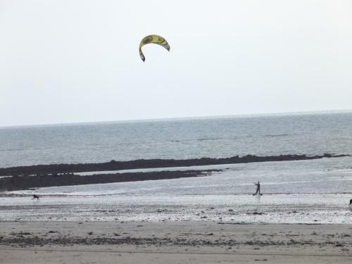 La plage de Saint-Germain-sur-Ay...