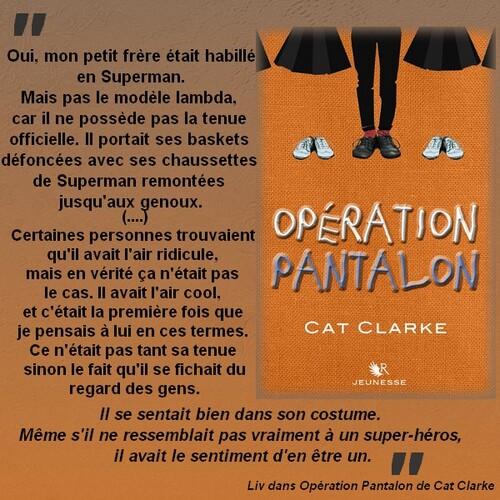 Citation Opération Pantalon de Cat Clarke