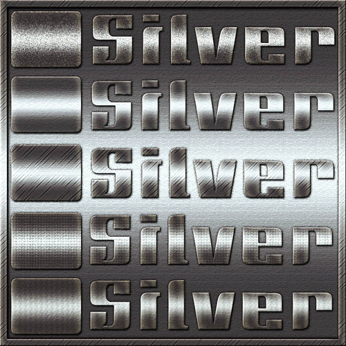 Silver Free Photoshop Layer Styles
