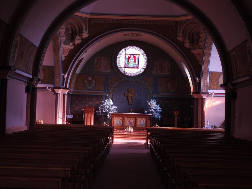 L'église Notre Dame des Passes au Moulleau - janvier 2018...