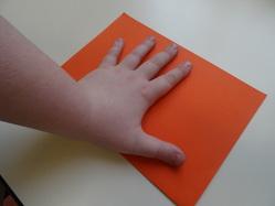 Les mains symétriques : carte de voeux pour les correspondants