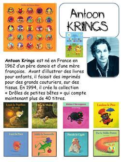 Les petites bêtes Antoon Krings