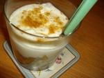 Dessert à la liqueur manzana