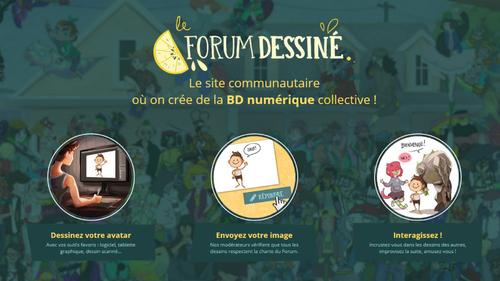 Le forum dessiné