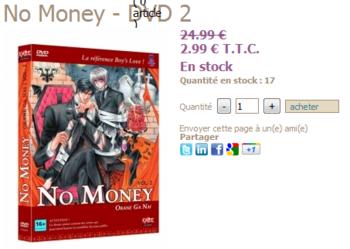 no money dvd