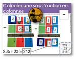 Table à calculer - Additions et soustractions en colonnes