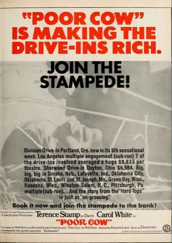 BOX OFFICE USA DU 30 JANVIER 1968 AU 5 FEVRIER 1968