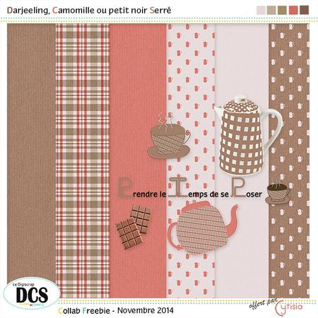 DCS: Darjeeling, Camomille ou petit noir Serré