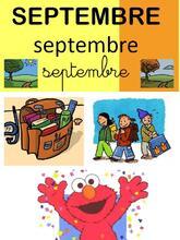 Affichage des mois de l'année