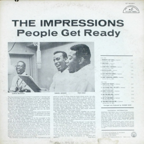 "1965 : Album "" People Get Ready "" ABC Paramount Records ABCS 505 [ US ]"