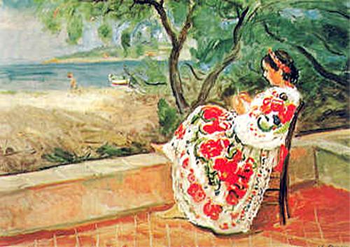 sur la terrasse à St Tropez