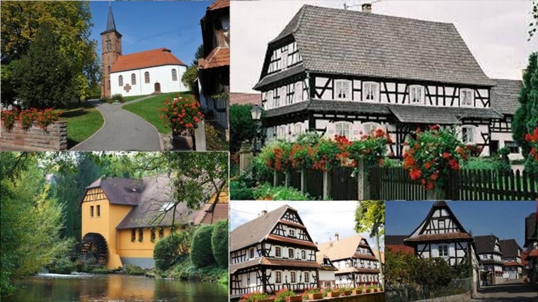 Un village d'Alsace