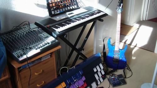Le piano-pied