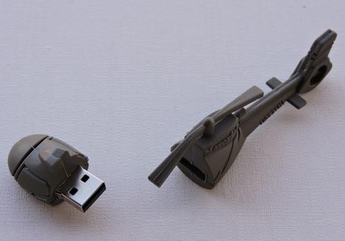 Clé USB hélicoptère 4Go