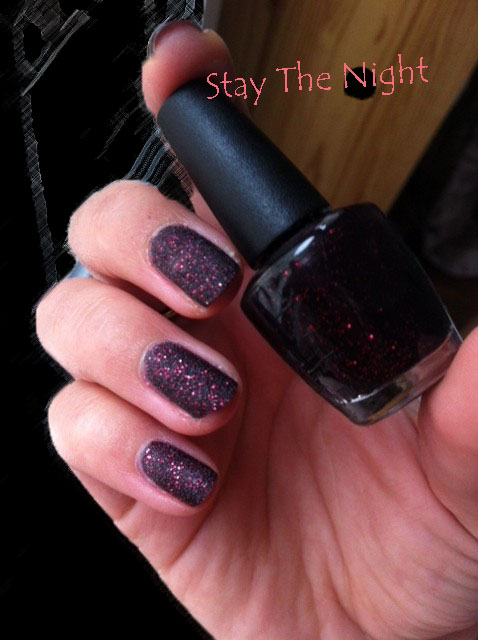 Dossier : Vernis Liquid Sand by OPI